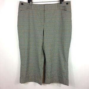 Lane Bryant Cuffed Capri Pants Plus Size 20 NEW